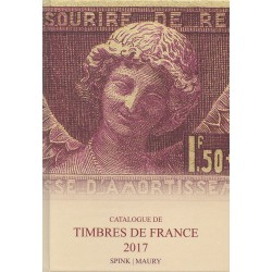 Timbres de France - Maury (Edition 2017)