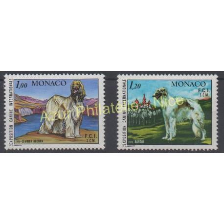 Monaco - 1978 - No 1163/1164 - Chiens
