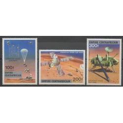Centrafricaine (République) - 1977 - No PA178/PA180 - Espace