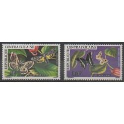 Centrafricaine (République) - 1976 - No PA148/PA149 - Insectes