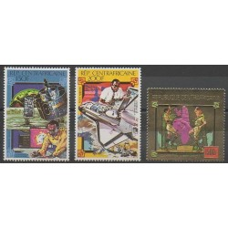 Centrafricaine (République) - 1980 - No PA227/PA229 - Espace