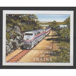 Liberia - 2001 - No BF381 - Chemins de fer