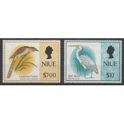 Niue - 1993 - No 624/625 - Oiseaux