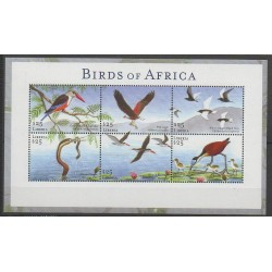 Liberia - 2002 - Nb 3872/3877 - Birds
