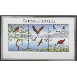 Liberia - 2002 - No 3872/3877 - Oiseaux