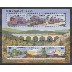 Liberia - 2001 - No 3161/3166 - Chemins de fer