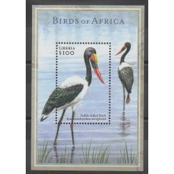 Liberia - 2002 - No BF463 - Oiseaux