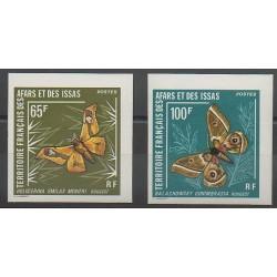 Afars et Issas - 1976 - No 420/421ND - Insectes