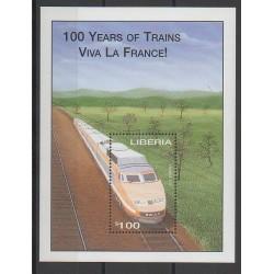 Liberia - 2001 - No BF377 - Chemins de fer