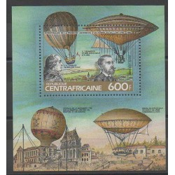 Central African Republic - 1983 - Nb BF69A - Hot-air balloons - Airships
