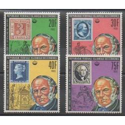 Comores - 1978 - No 245/248 - Timbres sur timbres