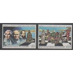 Comores - 1979 - No 313/314 - Échecs