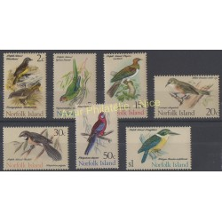 Norfolk - 1971 - No 116/122 - Oiseaux
