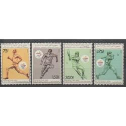 Comores - 1989 - No 499/502 - Jeux Olympiques d'été