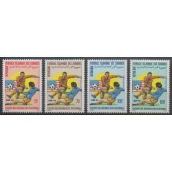 Comoros - 1993 - Nb 555/558 - Soccer World Cup