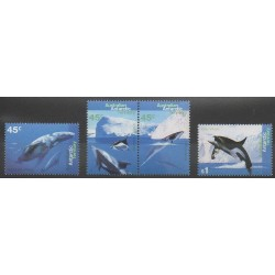 Australian Antarctic Territory - 1995 - Nb 102/105 - Sea animals - Mamals