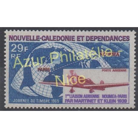 Nouvelle-Calédonie - Poste aérienne - 1969 - No PA102 - Avions