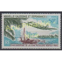 New Caledonia - Airmail - 1969 - Nb PA 109 - Planes