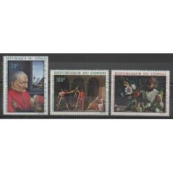 Congo (République du) - 1968 - No PA64/PA66 - Peinture