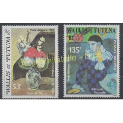 Wallis and Futuna - Airmail - 1981 - Nb PA 110/ PA 111 - Painting