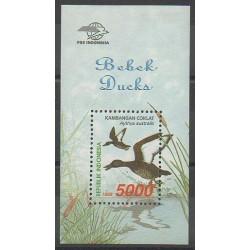 Indonésie - 1998 - No BF137 - Oiseaux