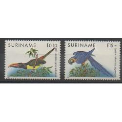 Surinam - 1990 - No 1210/1211 - Oiseaux