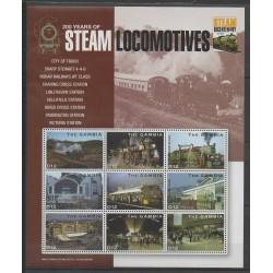 Gambie - 2004 - No 4196/4204 - Chemins de fer