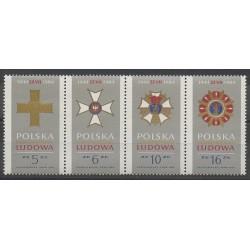 Pologne - 1984 - No 2738/2741 - Armoiries