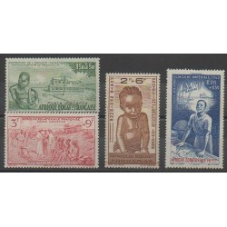 French Equatorial Africa - 1942 - Nb PA10/PA13