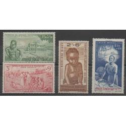 Afrique Equatoriale Française - 1942 - No PA10/PA13
