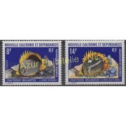 Nouvelle-Calédonie - 1973 - No 387/388 - Poissons