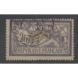 France - Poste - 1900 - No 122 - Oblitéré