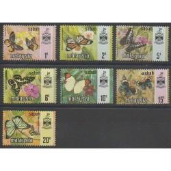 Malaisie-Sabah - 1971 - No 24/30 - Insectes