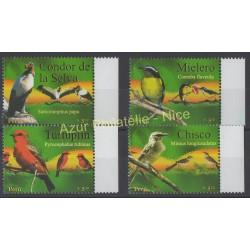 Pérou - 2007 - No 1681/1684 - Oiseaux