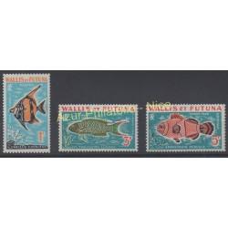 Wallis and futuna - 1963 - Nb T37/T39 - Fishes