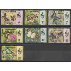 Malaisie-Negeri Sembilan - 1971 - No 80/86 - Insectes