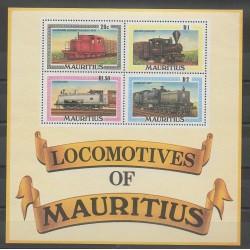 Maurice - 1979 - No BF9 - Chemins de fer