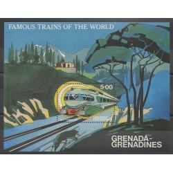 Grenadines - 1982 - No BF68 - Chemins de fer