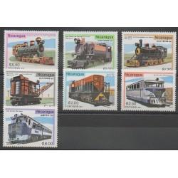 Nicaragua - 1981 - No 1169/1174 - PA972 - Chemins de fer