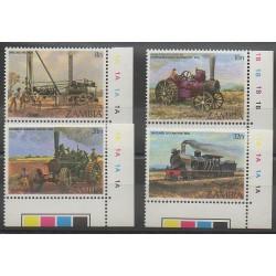 Zambie - 1983 - No 267/270 - Chemins de fer