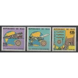 Mali - 1980 - No PA376/PA378 - Rotary