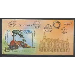 Cuba - 1980 - No BF64 - Chemins de fer