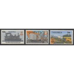 Nigeria - 1980 - No 382/384 - Chemins de fer