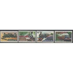Australie - 1979 - No 662/665 - Chemins de fer