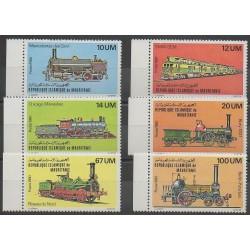 Mauritanie - 1980 - No 466/471 - Chemins de fer