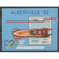 Congo (République du) - 1989 - No BF45 - Jeux olympiques d'hiver