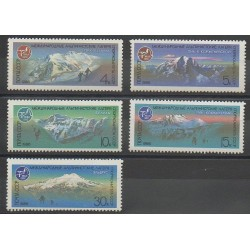 Russie - 1986 - No 5335/5339 - Sites