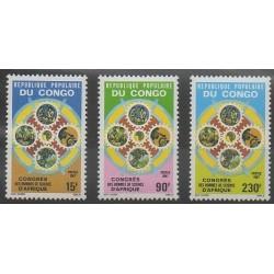 Congo (République du) - 1987 - No 803/805 - Sciences et Techniques