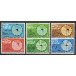 Grande-Bretagne - Territoire antarctique - 1982 - No 108/113 - Régions polaires