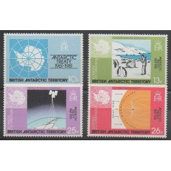 British Antarctic Territory - 1981 - Nb 101/104 - Polar regions